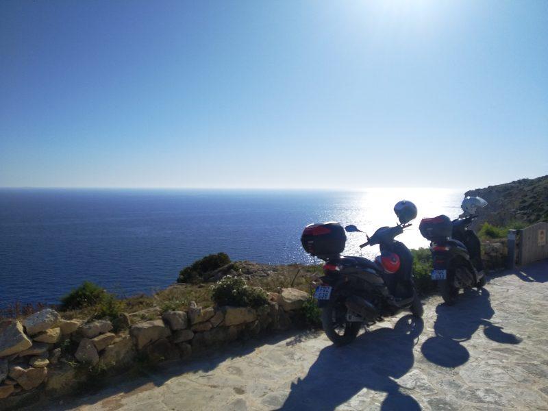 scoot vue sannap cliff